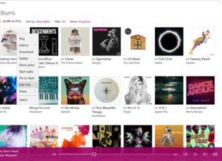 Groove Music App version 3.6.2386.03.6.2397.0