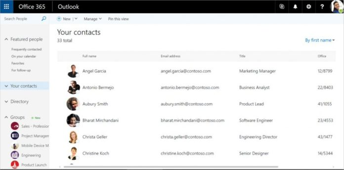 New features announced for Outlook Web