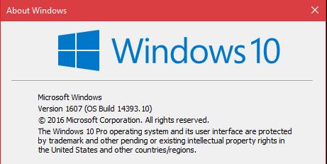 PC Build 10.0.14393.10