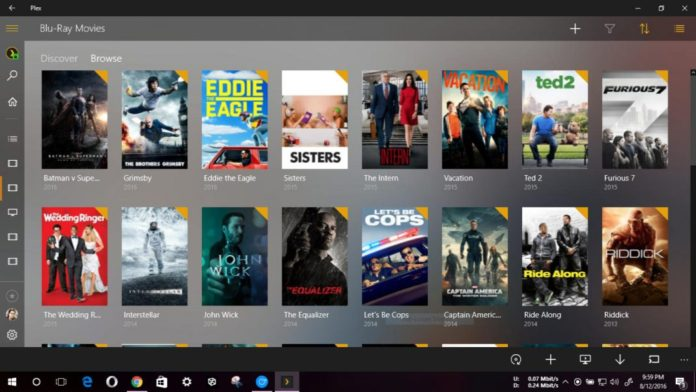 Plex UWP app 3.0.69 Plex UWP app version 3.0.57 Plex UWP App adds Cortana Support