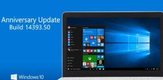 Windows 10 Build 14393.50 build 10.0.14393.50) leaked info