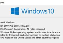 update KB3176938 build 14393.105