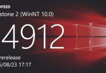 build 14911 and Mobile build 10.0.14911.1000