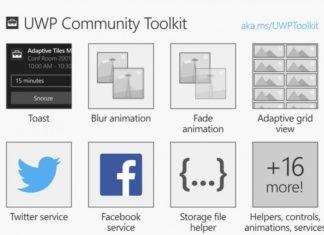 Microsoft open-source UWP Community Toolkit
