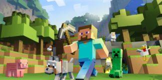 Minecraft VR game on Oculus Rifts
