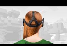 Minecraft VR Oculus Rift headset