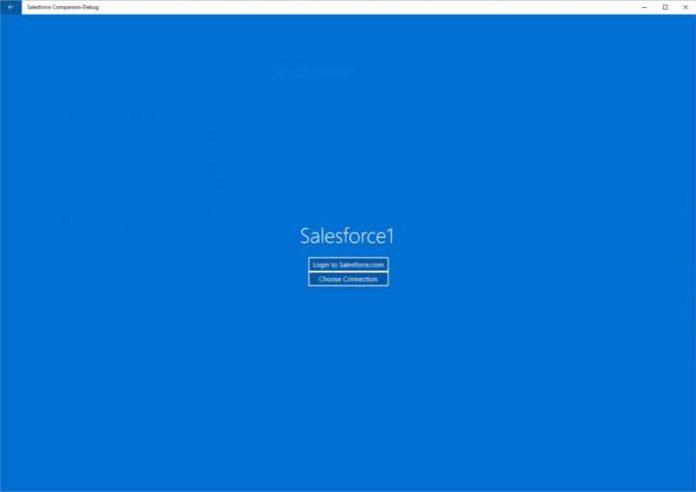Salesforce Companion app