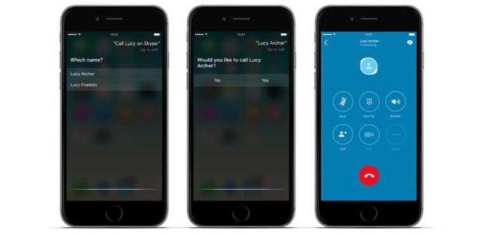 Skype adds Siri