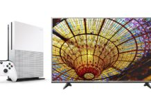 New Xbox One S and LG 55-Inch 4K TV for $800 Only