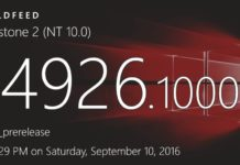 Windows 10 build 14926 and mobile build 10.0.14926.1000