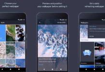 Wallpapers app