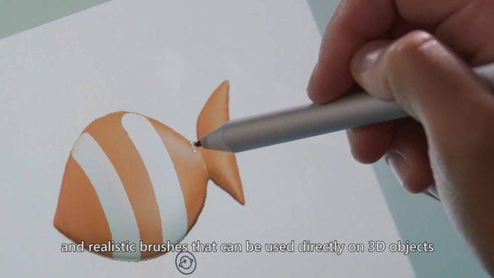 Microsoft Paint Preview app