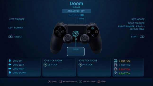 Steam adding PS4 Controller