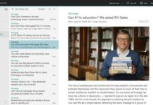 Nextgen RSS Reader app for Windows 10