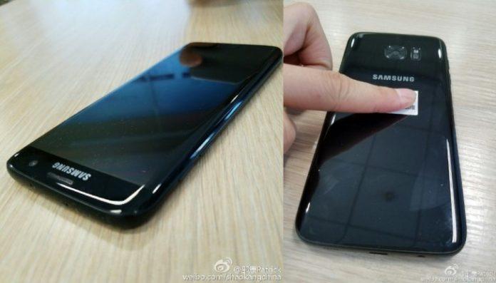 Samsung Galaxy S7 edge Glossy Black