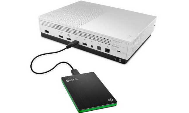 Seagate external SSD