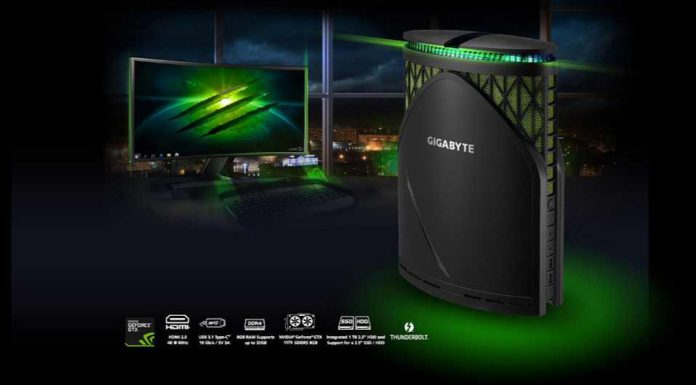 Gigabyte BRIX Gaming GT Desktop