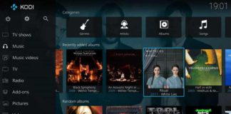 Kodi app for Windows 10