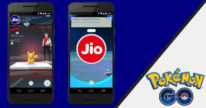 Pokémon GO launched in India JIO