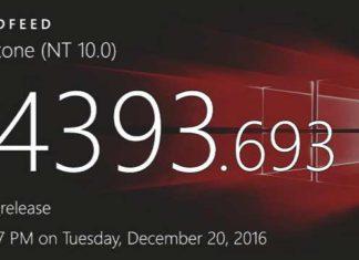 Windows 10 Build 14393.693 (10.0.14393.693) info