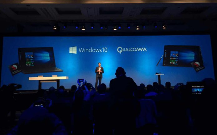 Qualcomm Snapdragon processors adding Windows 10 support