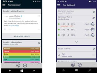London Midland and SouthEastern apps for Windows Phone