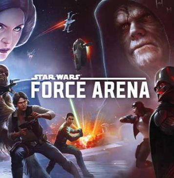 Star Wars Force Arena game