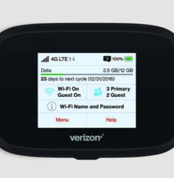 Verizon Jetpack MiFi 7730L hotspot