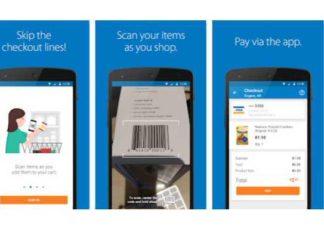 Walmart Scan & Go app