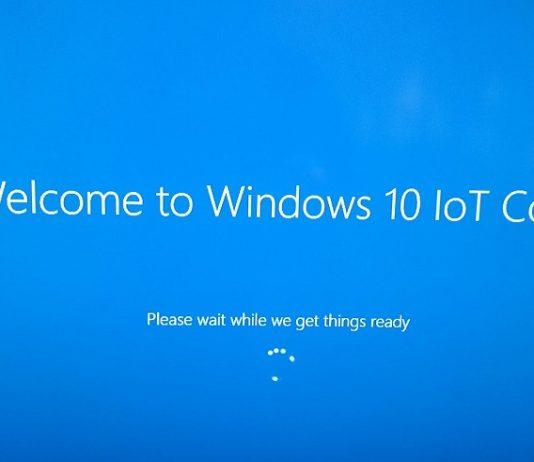 Windows 10 IoT Core build 17015