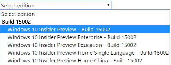 Windows 10 Build 15002 ISO