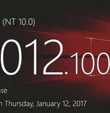 Windows 10 Build 15012