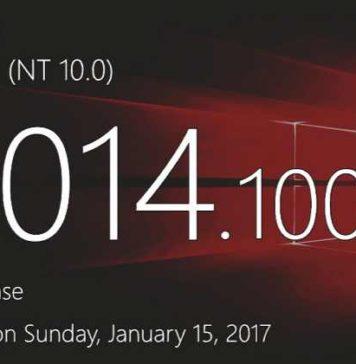 Windows 10 Build 15014