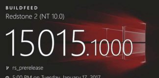 Windows 10 Build 15015 (10.0.15015.1000)