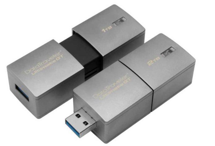Kingston announced 2TB DataTraveler Ultimate GT USB Flash Drive