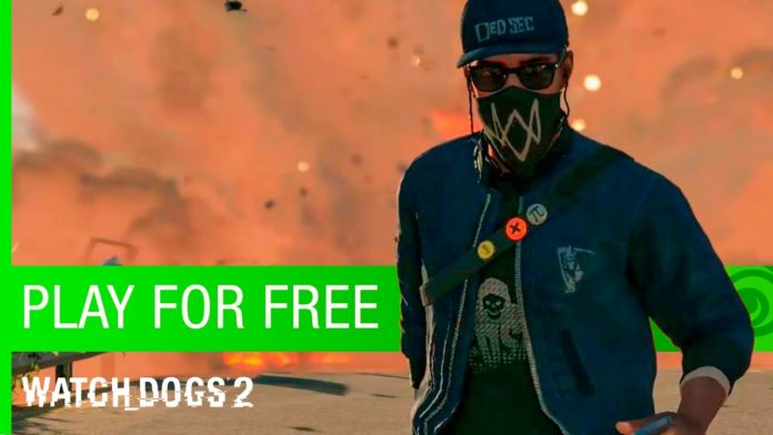 free Watch dogs 2 xbox one