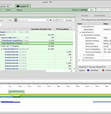 PIX game debugging tool for Windows