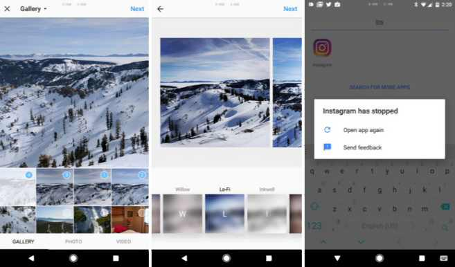Instagram multiple photos attachment to a single post