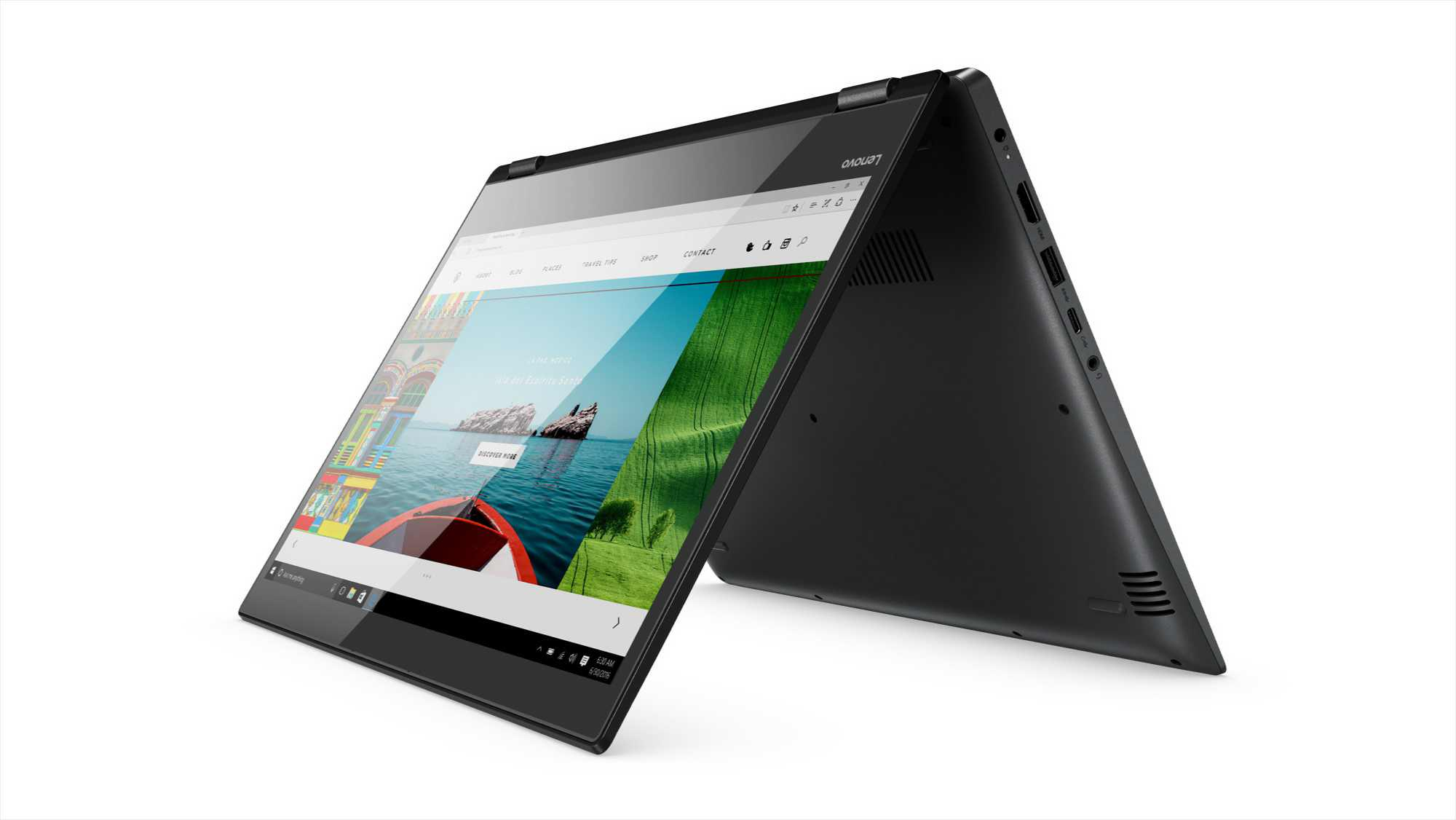 Lenovo Yoga 720 and 520 convertibles