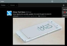 Twitter 5.5.0.0 for Windows 10