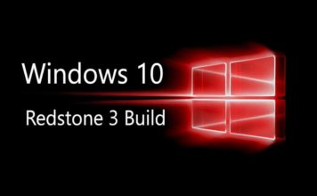 Windows 10 Redstone 3 update build 15141