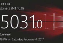 Windows 10 Build 15031 (10.0.15031.1000) info
