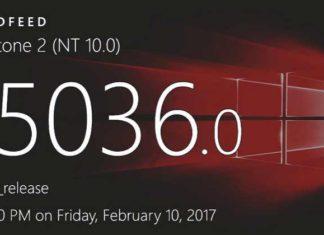 Windows 10 Build 15036 for PC