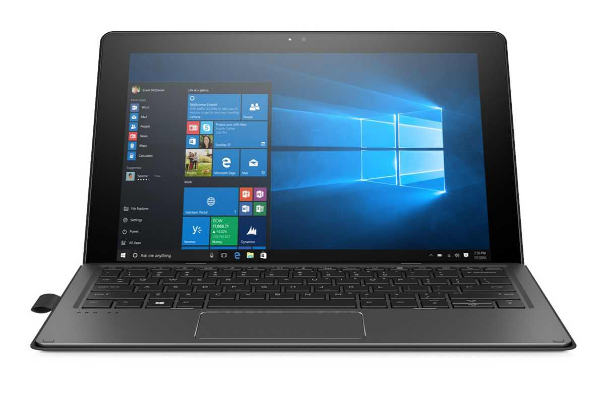 Hp Pro X2 612 G2 Windows 10 2 In 1 Tablet Pc Announced