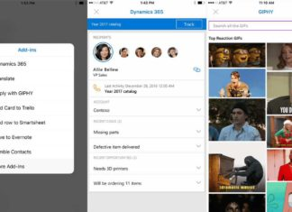 Outlook Add-ins for iOS