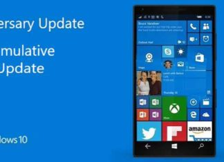 Windows 10 Mobile build 10.0.14393.805