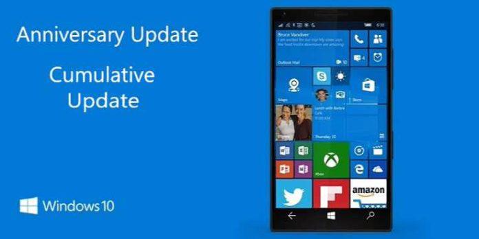 Windows 10 Mobile build 10.0.14393.805