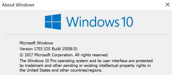 build 15058