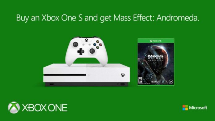 Get Mass Effect Andromeda for free with select Xbox One S bundles