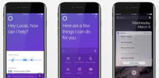 Cortana 2.0 for iPhone